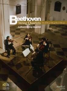 Ludwig van Beethoven (1770-1827): Streichquartette Nr.4,7,14, DVD