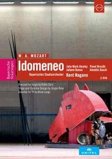 Wolfgang Amadeus Mozart (1756-1791): Idomeneo, 2 DVDs