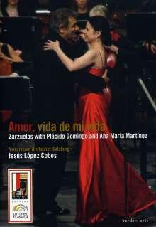 Placido Domingo & Ana Maria Martinez - Amor, vida de mi vida, DVD
