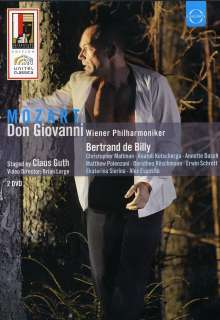 Wolfgang Amadeus Mozart (1756-1791): Don Giovanni, 2 DVDs