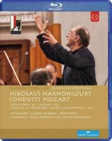 """Wolfgang Amadeus Mozart (1756-1791): Messe KV 262 """"Missa longa"""", Blu-ray Disc"""