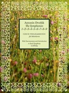 Antonin Dvorak (1841-1904): Symphonien Nr.1-9, 5 DVDs