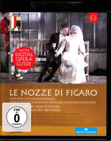 Wolfgang Amadeus Mozart (1756-1791): Die Hochzeit des Figaro (4K Ultra HD), Ultra HD Blu-ray