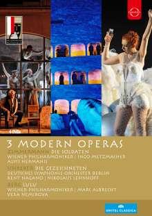 3 Modern Operas (Salzburger Festspiele), 4 DVDs