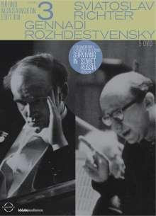 Svjatoslav Richter / Gennadi Roshdestvensky (Bruno Monsaingeon Edition Vol.3), DVD