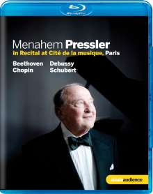 Menahem Pressler in Recital at Cité de la musique in Paris, Blu-ray Disc