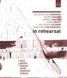 In Rehearsal, Blu-ray Disc