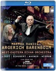 Martha Argerich & Daniel Barenboim - Live from the BBC Proms 2016, Blu-ray Disc