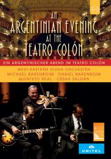 West-Eastern Divan Orchestra - A Tango Evening At the Teatro Colon, DVD