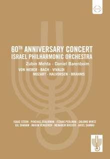 Israel Philharmonic Orchestra - 60th Anniversary Gala Concert, DVD