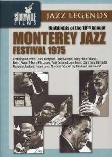 Monterey Jazz Festival 1975, DVD