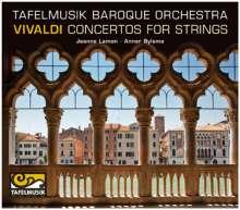 Antonio Vivaldi (1678-1741): Concerti für Streicher RV 117,134,143,159, CD