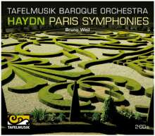 "Joseph Haydn (1732-1809): Symphonien Nr.82-87 ""Pariser"", 2 CDs"