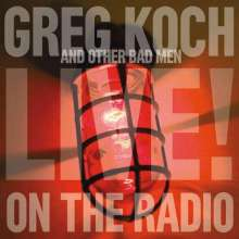 Greg Koch: Live On The Radio, CD