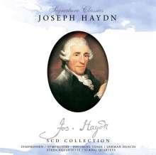 Joseph Haydn (1732-1809): Symphonien Nr.22,48,53,83,94,95,101,104, 5 CDs