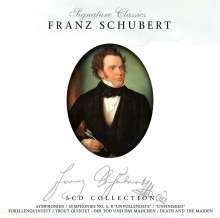 Franz Schubert (1797-1828): Meisterwerke-Master Wor, 5 CDs