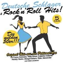 Deutsche Schlager: Rock'n' Roll Hits, 5 CDs