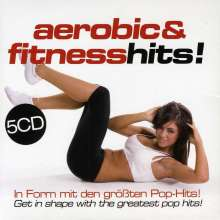 Aerobic & Fitness Hits!, 5 CDs