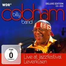 Billy Cobham (geb. 1944): Live At Jazzfestival Leverkusen 2010 (Deluxe Edition), 1 CD und 1 DVD