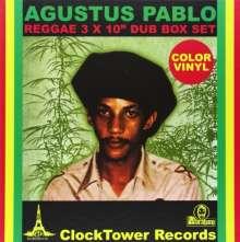 "Augustus Pablo: Reggae Dub Box Set (Colored Vinyl), 3 Single 10""s"