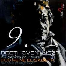 Ludwig van Beethoven (1770-1827): Symphonie Nr.9 (f.2 Klaviere v.Liszt), CD