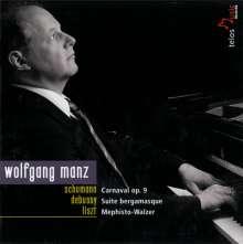 Wolfgang Manz - Schumann/Debussy/Liszt, CD