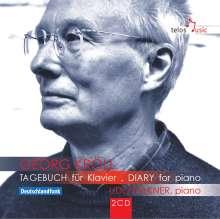 Georg Kröll (geb. 1934): Tagebuch für Klavier, 2 CDs