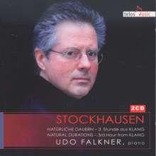 """Karlheinz Stockhausen (1928-2007): Natürliche Dauern - 3. Stunde aus """"Klang"""", 2 CDs"""
