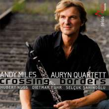 Andy Miles & Auryn Quartett - Crossing Borders, CD