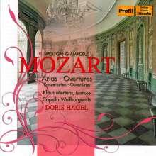 Wolfgang Amadeus Mozart (1756-1791): Konzertarien für Bariton, CD