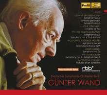 Günter Wand & das Deutsche Symphonie-Orchester Berlin (Rundfunk-Aufnahmen), 8 CDs