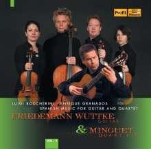 Friedemann Wuttke - Spanish Music for Guitar and Quartet, CD