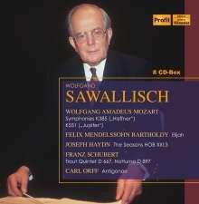 Wolfgang Sawallisch dirigiert, 8 CDs
