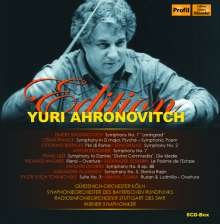 Yuri Ahronovitch Edition, 8 CDs