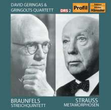 Walter Braunfels (1882-1954): Streichquintett op.63, CD