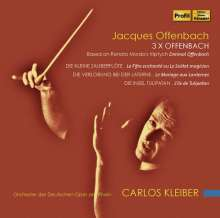 Jacques Offenbach (1819-1880): 3x Offenbach, 2 CDs