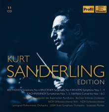 Kurt Sanderling Edition, 11 CDs