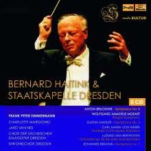 Bernard Haitink & Staatskapelle Dresden Live, 6 CDs