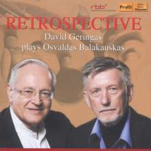 David Geringas - Retrospective, CD