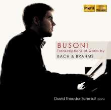Ferruccio Busoni (1866-1924): Bach- und Brahms-Transkriptionen, CD