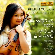 Peijun Xu - Works for Viola & Piano, CD