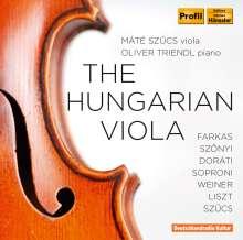 Mate Szücs - The Hungarian Viola, CD