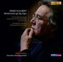 Franz Schubert (1797-1828): Winterreise D.911 (für Tenor & Streichquartett), 1 CD und 1 DVD