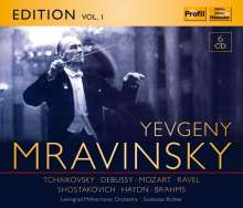 Yevgeni Mravinsky Edition Vol.1, 6 CDs
