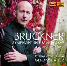 Anton Bruckner (1824-1896): Symphonie f-moll (1863), CD
