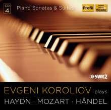 Evgeni Koroliov plays Haydn, Mozart, Händel, 4 CDs