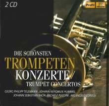 Die schönsten Trompetenkonzerte, 2 CDs