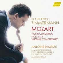 Wolfgang Amadeus Mozart (1756-1791): Violinkonzerte Nr. 2 & 5, CD