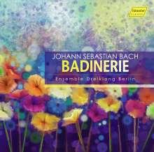 Johann Sebastian Bach (1685-1750): Badinerie - Bach für 3 Blockflöten, CD