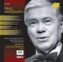 Paul Hindemith (1895-1963): Der Dämon op.28 (Tanz-Pantomime), 2 CDs